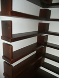 custom cabinet  shelves